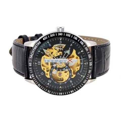 f2bdabfc476 Pánské hodinky Luxury Ik Winner Automatic zlaté